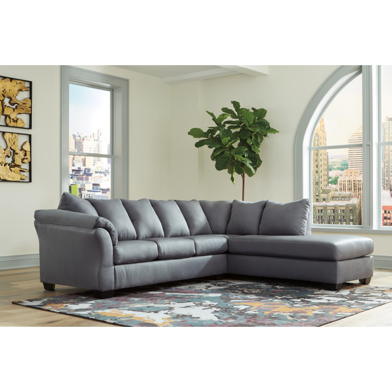Stupendous Darcy 2 Piece Sectional With Chaise Gmtry Best Dining Table And Chair Ideas Images Gmtryco