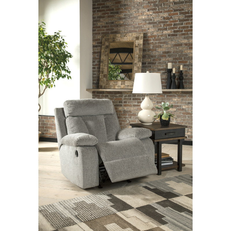 Astonishing Mitchiner Recliner By Signature Design By Ashley 7620425 Bralicious Painted Fabric Chair Ideas Braliciousco