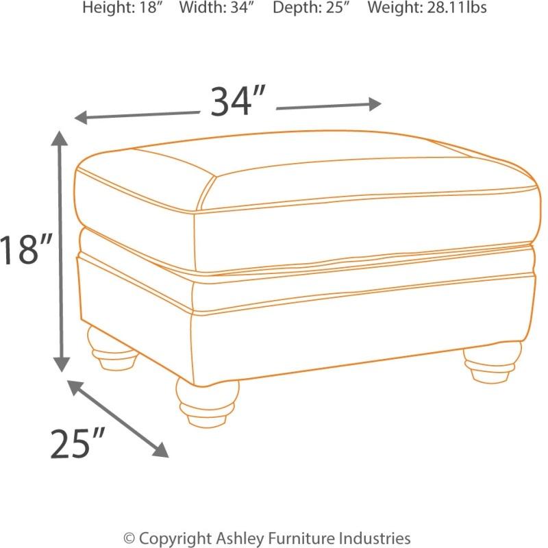 Awe Inspiring Bristan Ottoman By Signature Design By Ashley 8220214 Unemploymentrelief Wooden Chair Designs For Living Room Unemploymentrelieforg