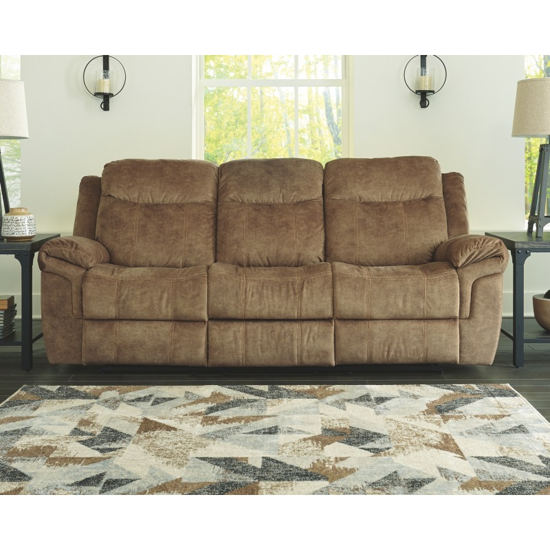 Huddle-Up Reclining Sofa with Drop Down Table