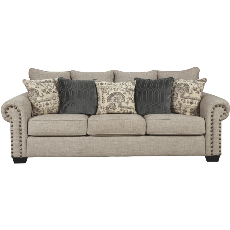 Remarkable Zarina Queen Sofa Sleeper By Signature Design By Ashley Interior Design Ideas Truasarkarijobsexamcom