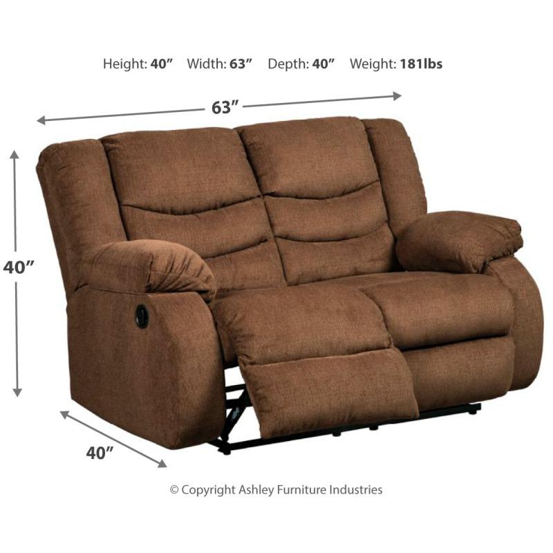 Groovy Tulen Reclining Loveseat 9860586 Michael Alan Furniture Gamerscity Chair Design For Home Gamerscityorg
