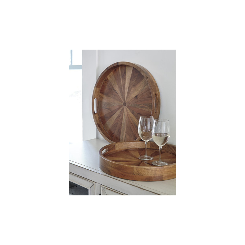 Lucio Tray Set Of 2 By Signature Design By Ashley Nis359853409 Deets Furniture