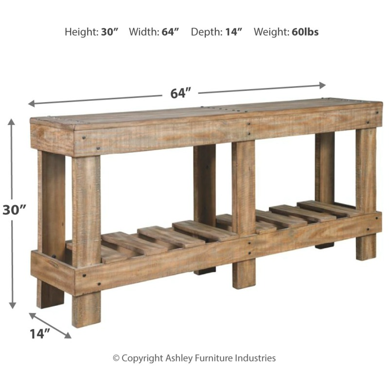 Susandeer Sofa/Console Table