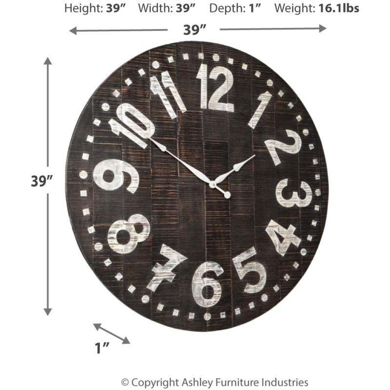 Brone Wall Clock