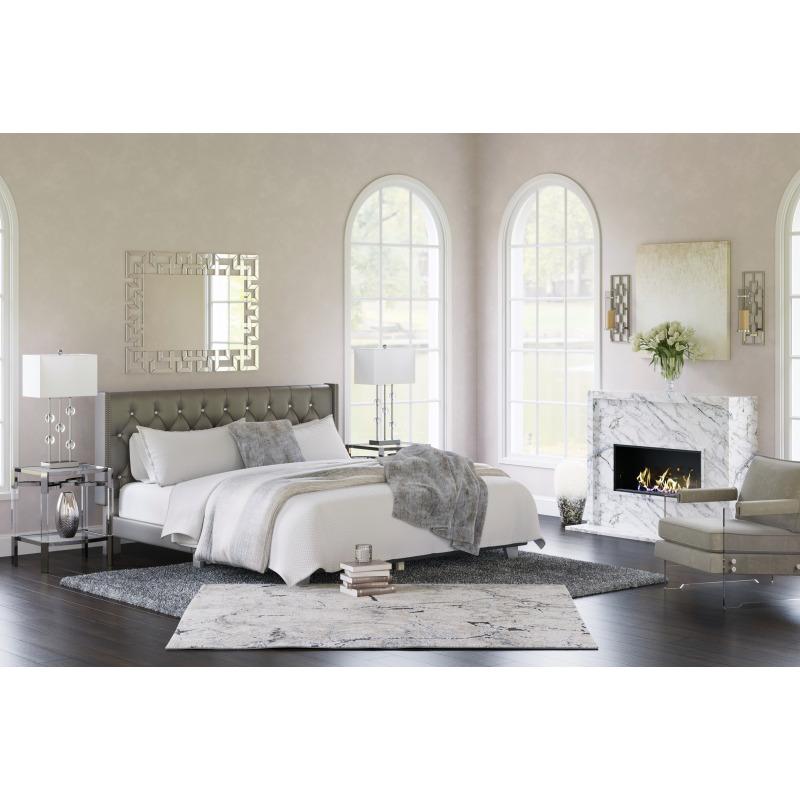 Vintasso King Upholstered Bed