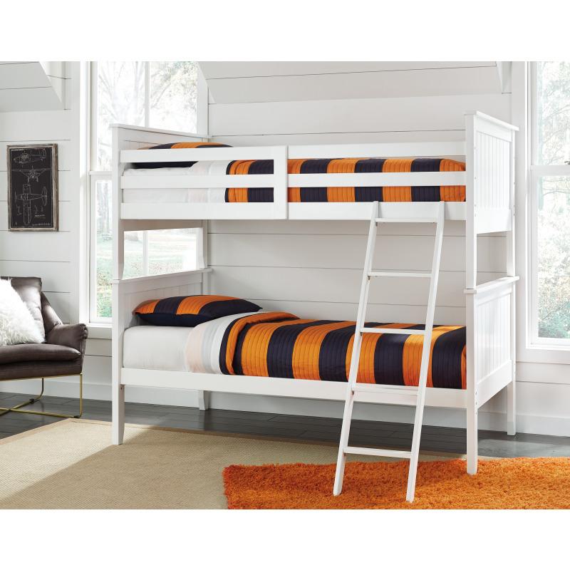 Lulu 3-Piece Twin over Twin Bunk Bed