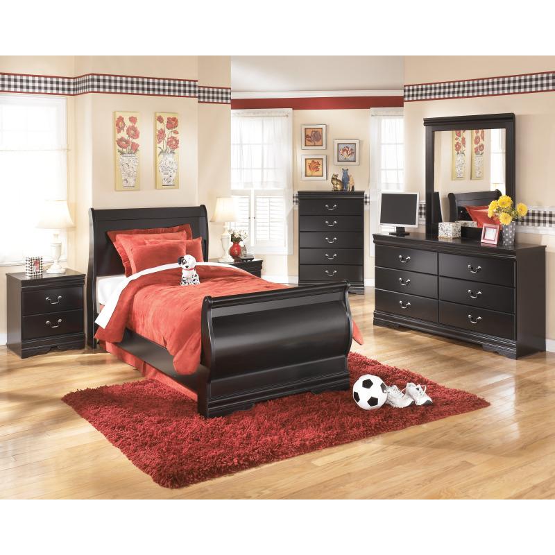 Huey Vineyard Twin Sleigh Bed