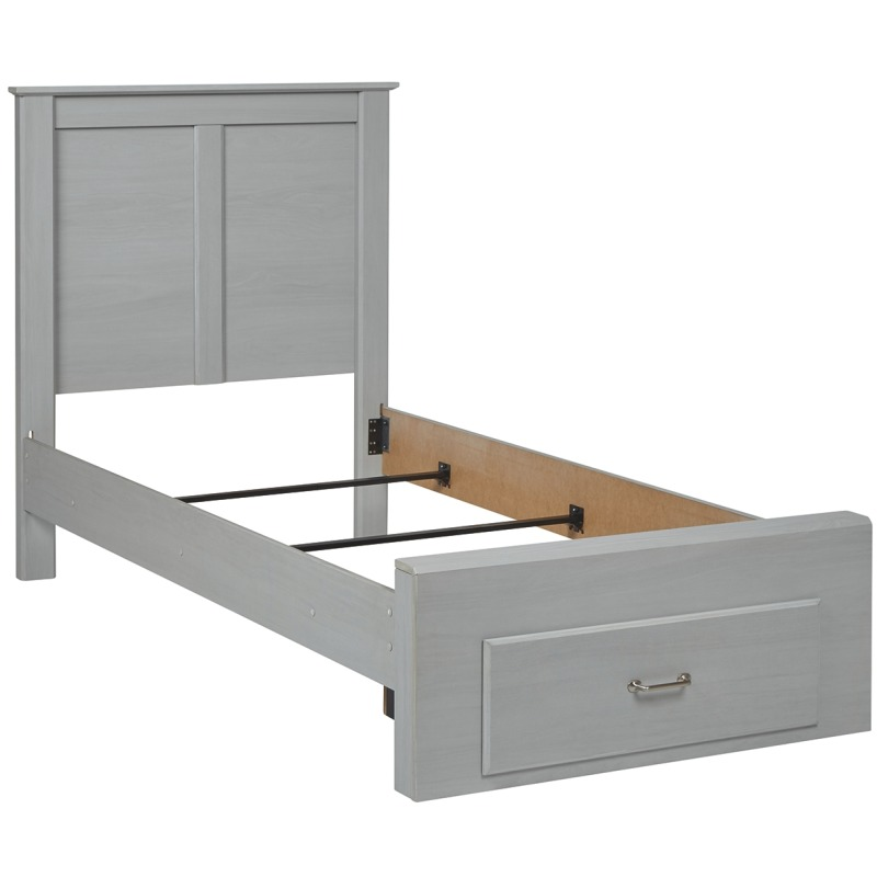 Arcella Twin Panel Bed with Storage