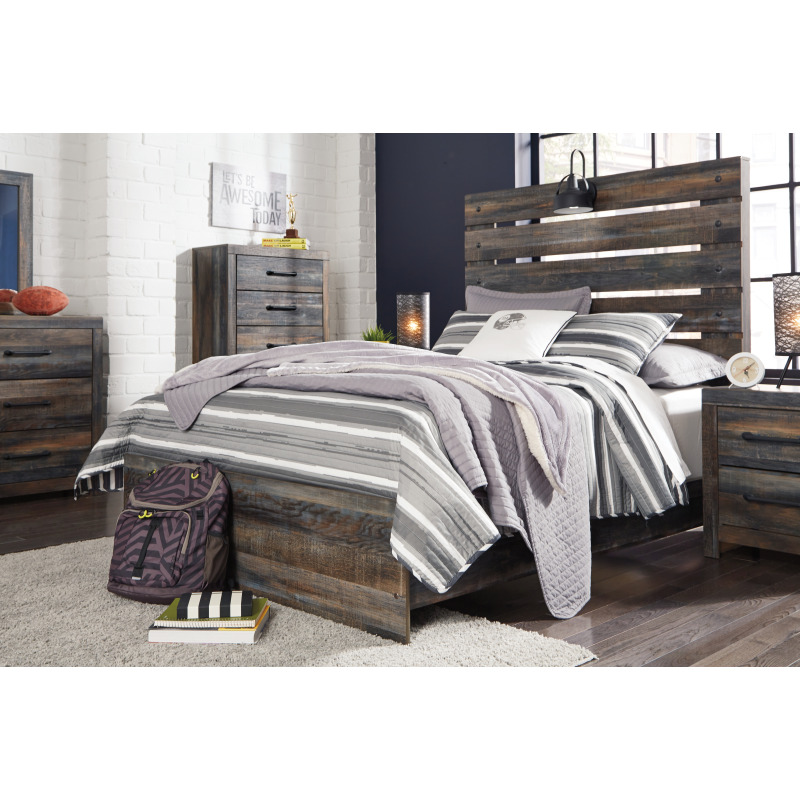 Drystan Full Panel Bed
