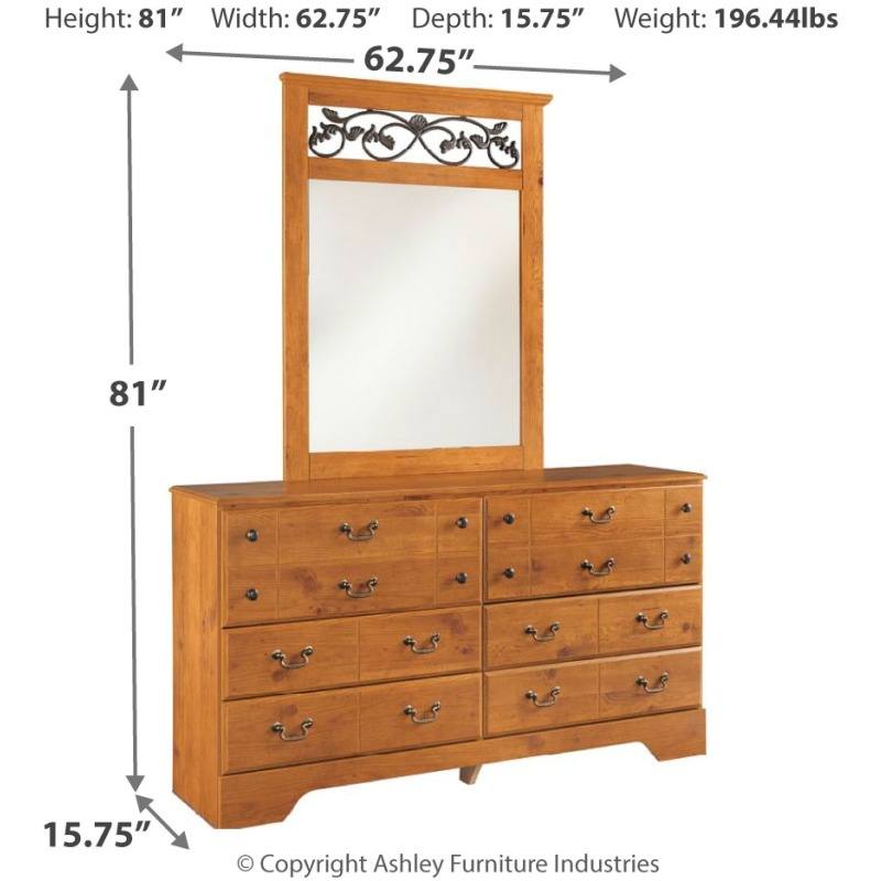 Bittersweet Dresser and Mirror