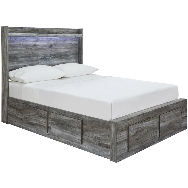 Baystorm Full Panel Bed with Storage