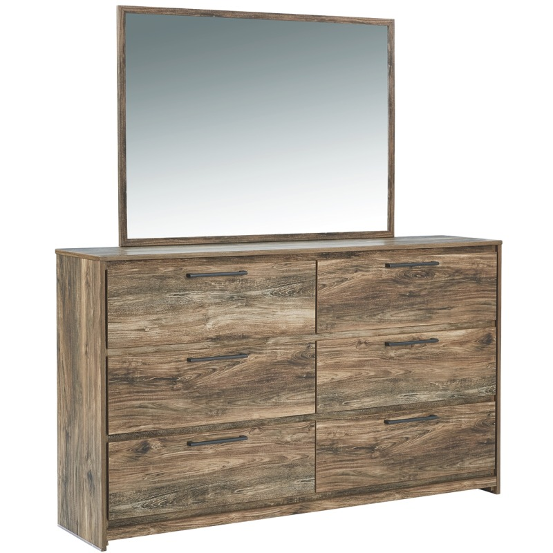 Rusthaven Dresser and Mirror