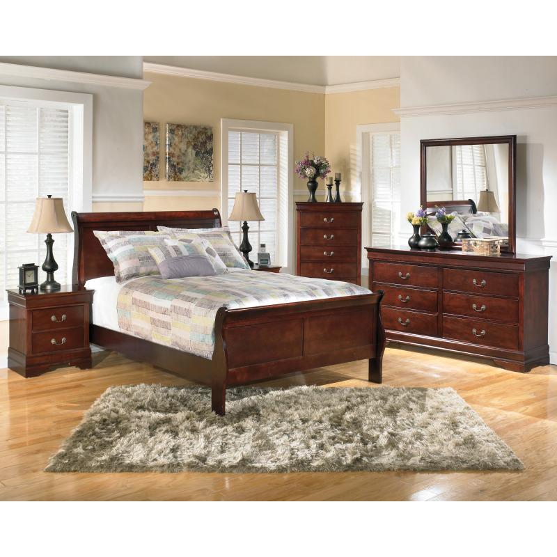 Alisdair Full Sleigh Bed