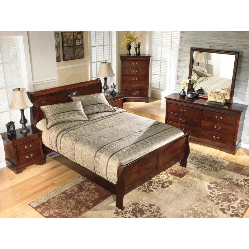 Alisdair King Sleigh Bed