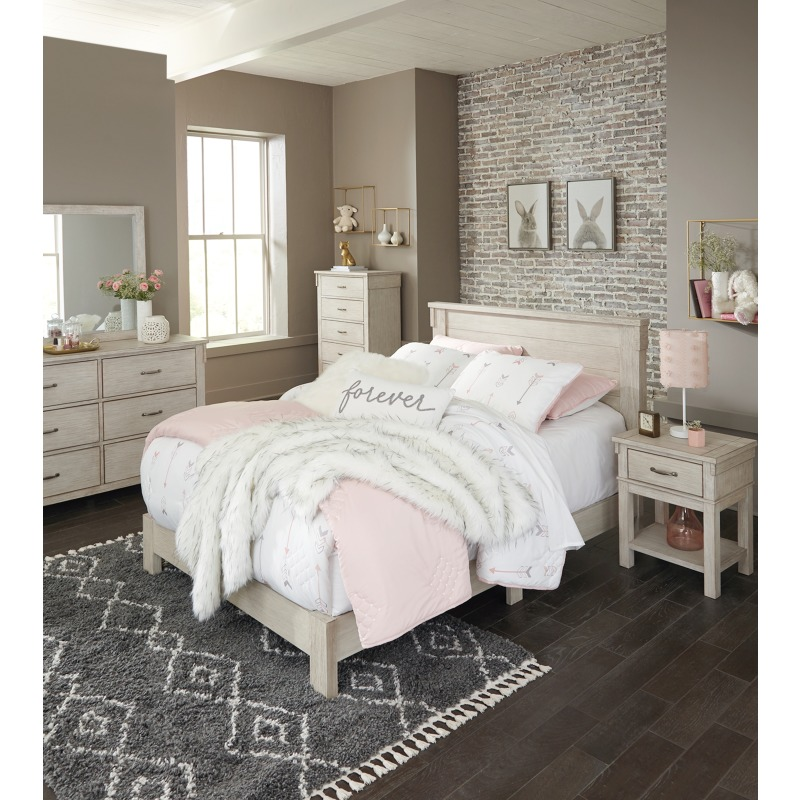 Hollentown Full Panel Bed