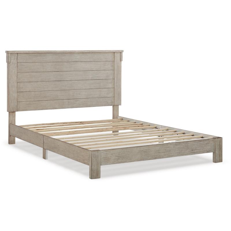 Hollentown Queen Panel Bed