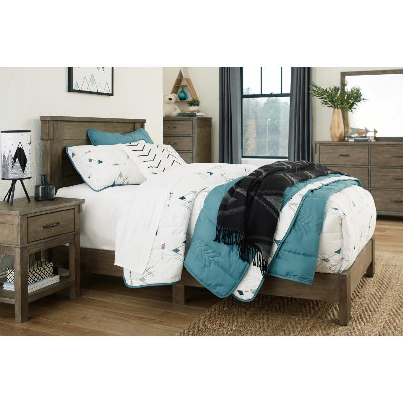 Shamryn Twin Panel Bed