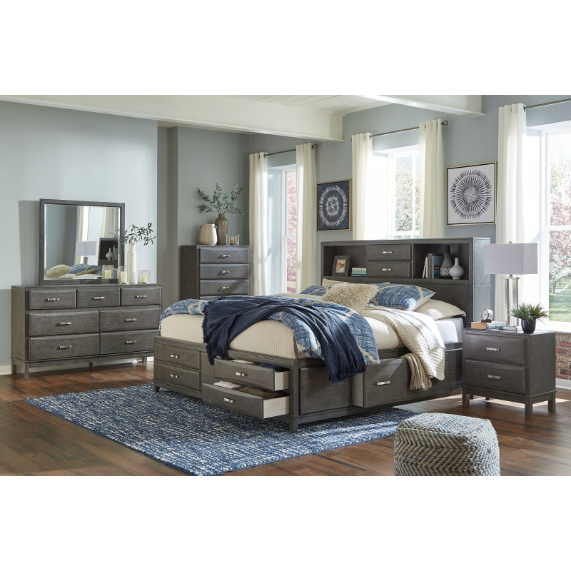 Caitbrook Queen Storage Bed