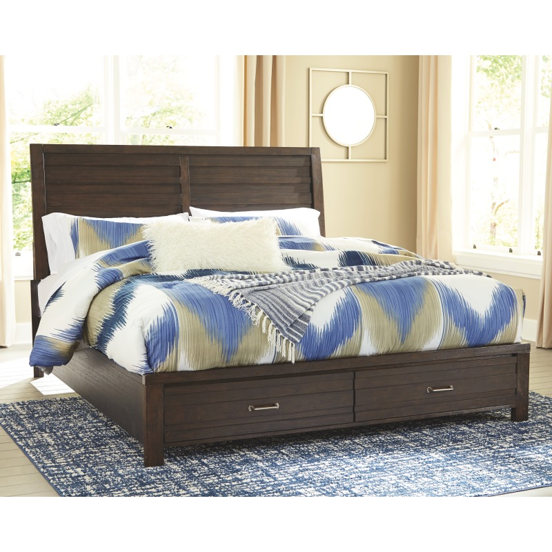 Darbry Queen Panel Bed with Storage