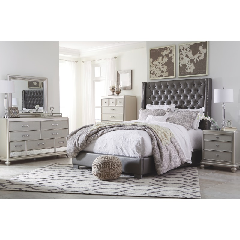 Coralayne Queen Upholstered Bed