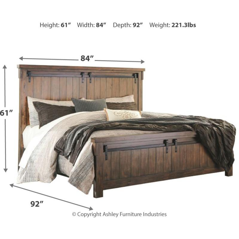 Lakeleigh California King Panel Bed