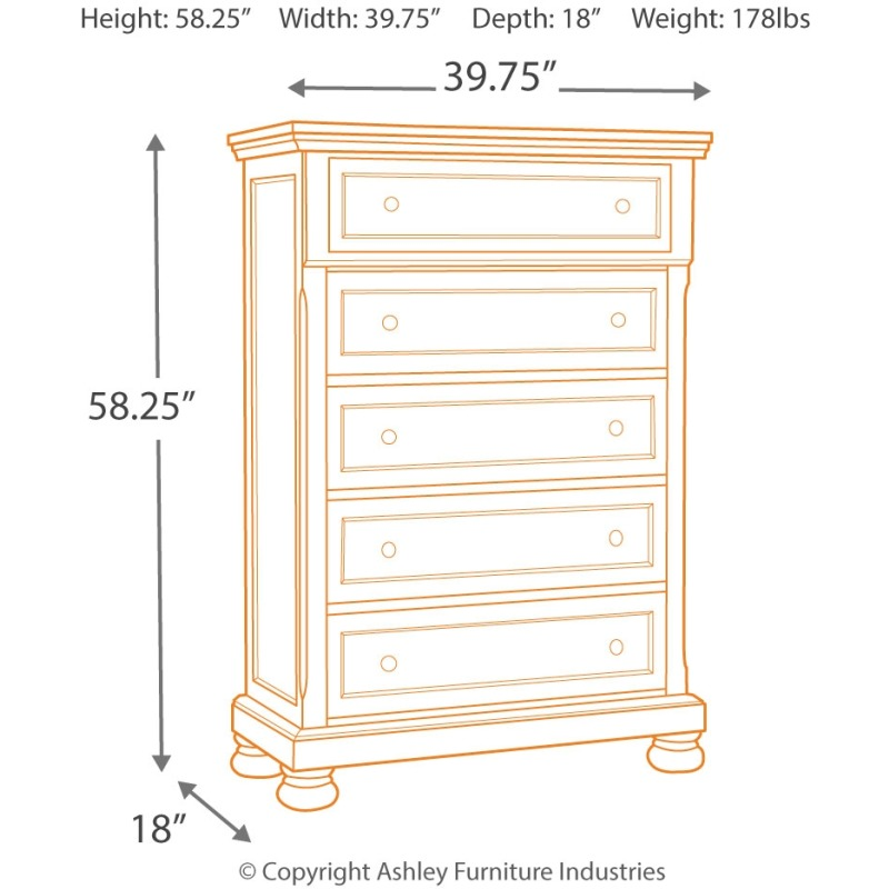 Flynnter Chest of Drawers