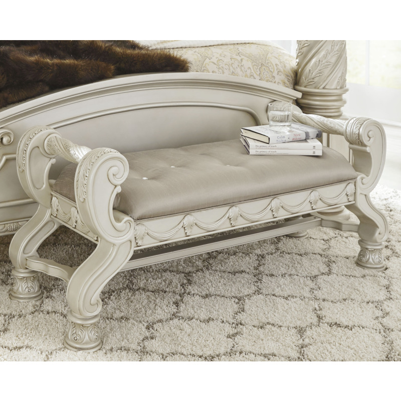 Cassimore Upholstered Bench