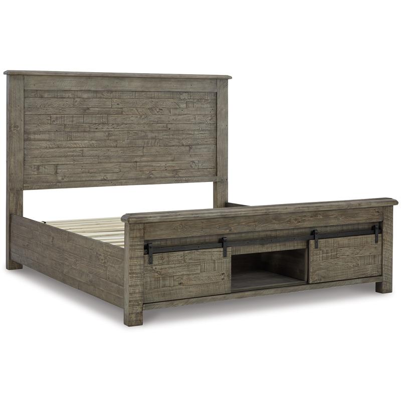 Brennagan King Panel Bed with Storage