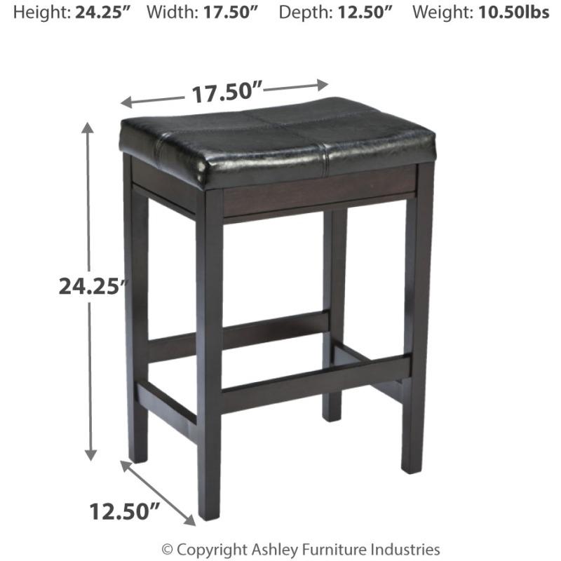 Kimonte Counter Height Bar Stool