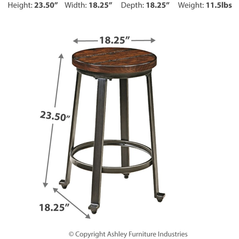 Challiman Counter Height Bar Stool