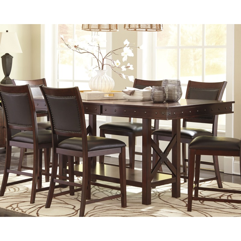 Cool Collenburg Counter Height Dining Room Table By Signature Gmtry Best Dining Table And Chair Ideas Images Gmtryco
