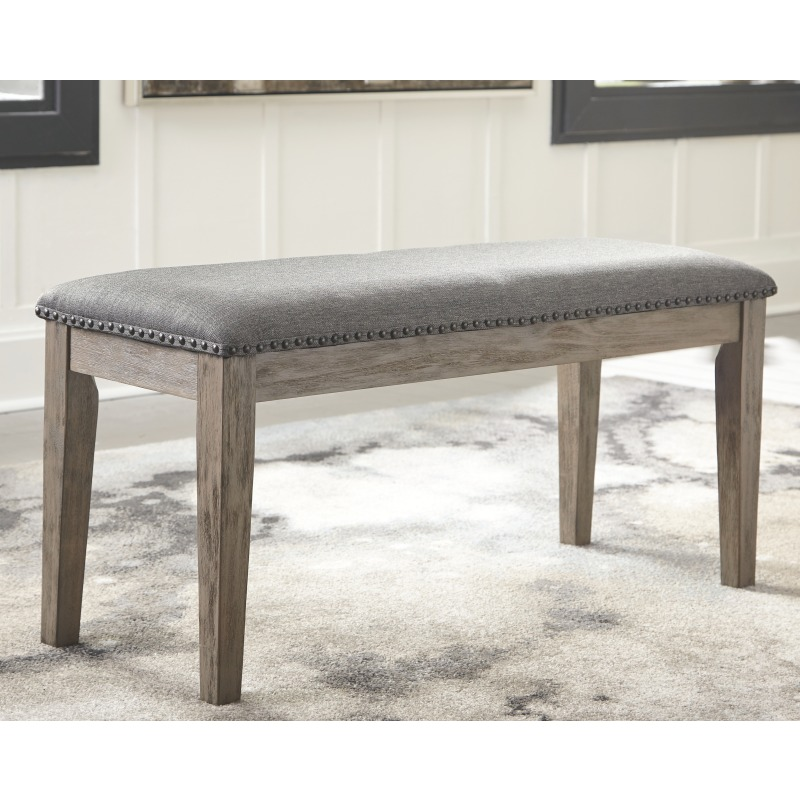 Awe Inspiring Aldwin Dining Room Bench D617 00 Gustafsons Furniture Ncnpc Chair Design For Home Ncnpcorg