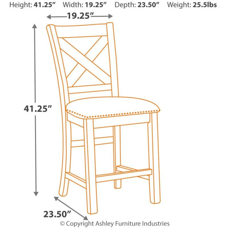 Moriville Counter Height Bar Stool