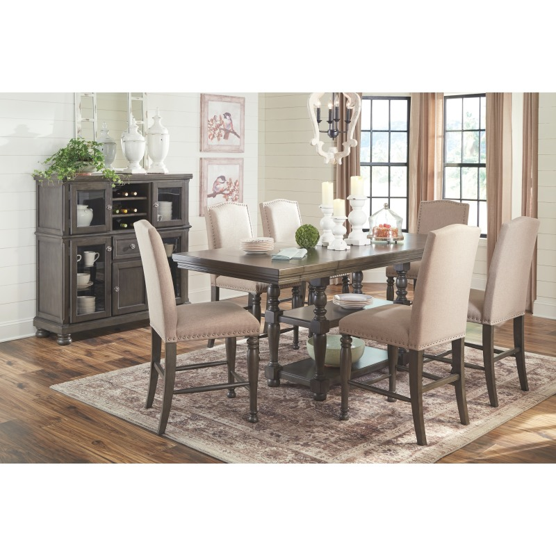 Pleasant Audberry Counter Height Dining Room Table D637 32 Gmtry Best Dining Table And Chair Ideas Images Gmtryco