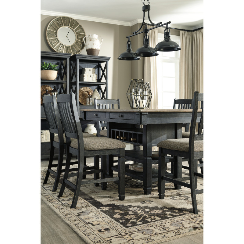 Excellent Tyler Creek Counter Height Bar Stool D736 124 Michael Caraccident5 Cool Chair Designs And Ideas Caraccident5Info