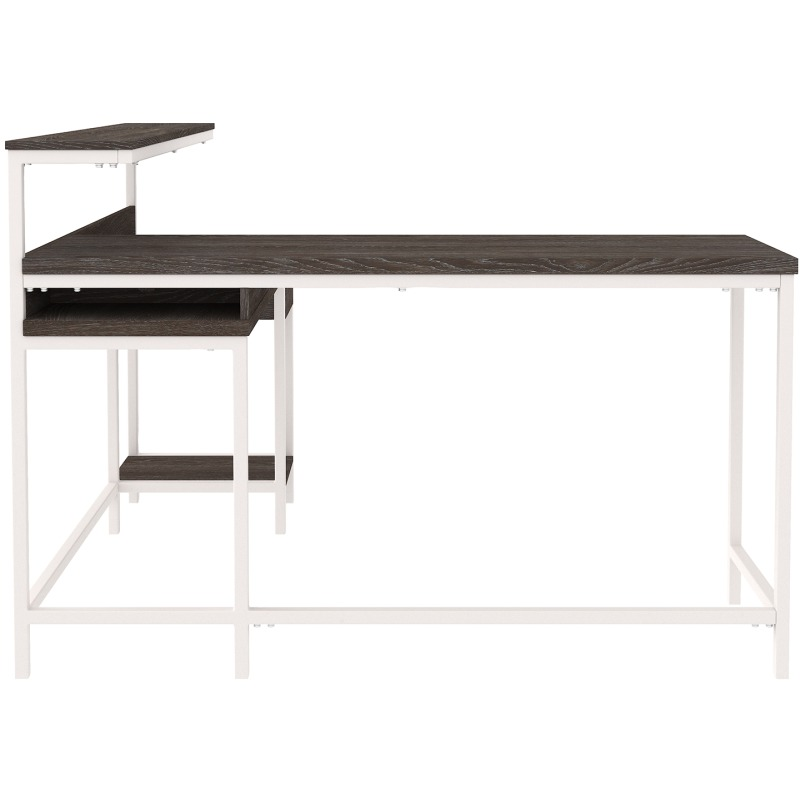 Dorrinson Home Office L-Desk with Storage