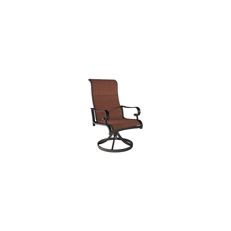 Apple Town Sling Swivel Chair (Set of 2)