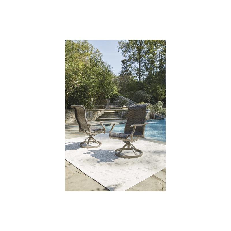 Windon Barn Swivel Chair (Set of 2)