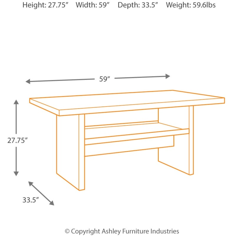 Salceda Multi-Use Table