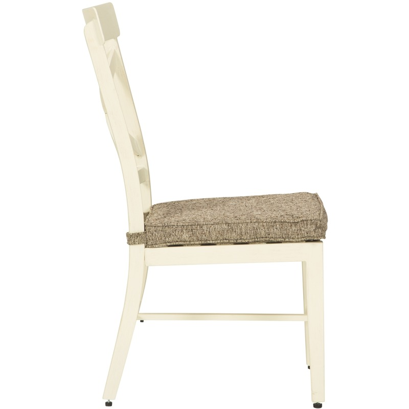 Preston Bay Armless Chair with Cushion (Set of 2)