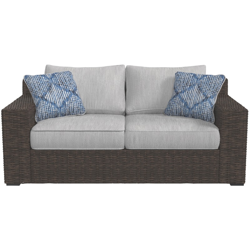 Awe Inspiring Alta Grande Loveseat With Cushion Short Links Chair Design For Home Short Linksinfo