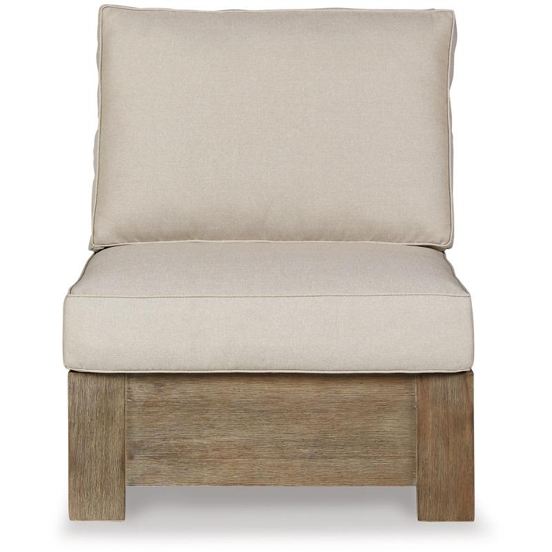 Silo Point Outdoor Armless Chair with Cushion