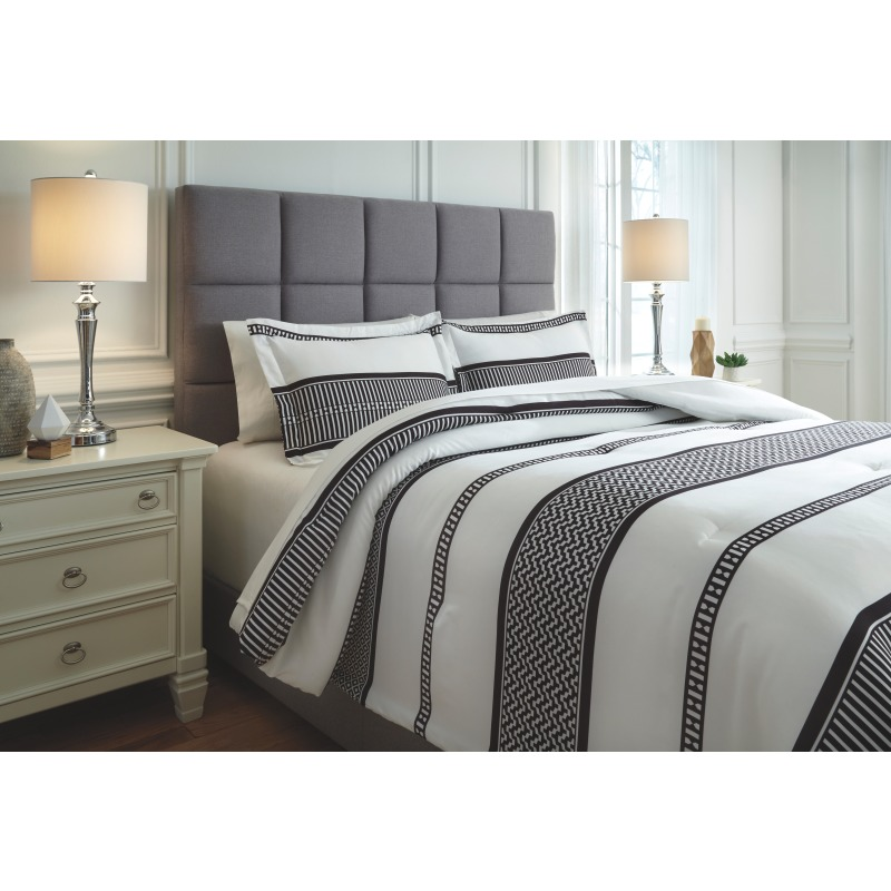 Masako 3-Piece King Comforter Set