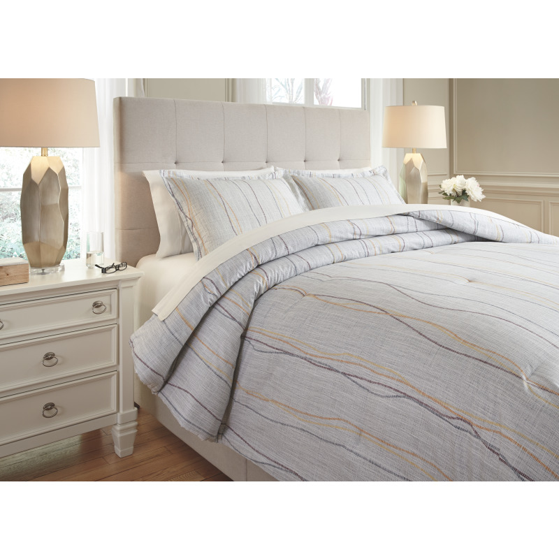 Bevan 3-Piece King Comforter Set