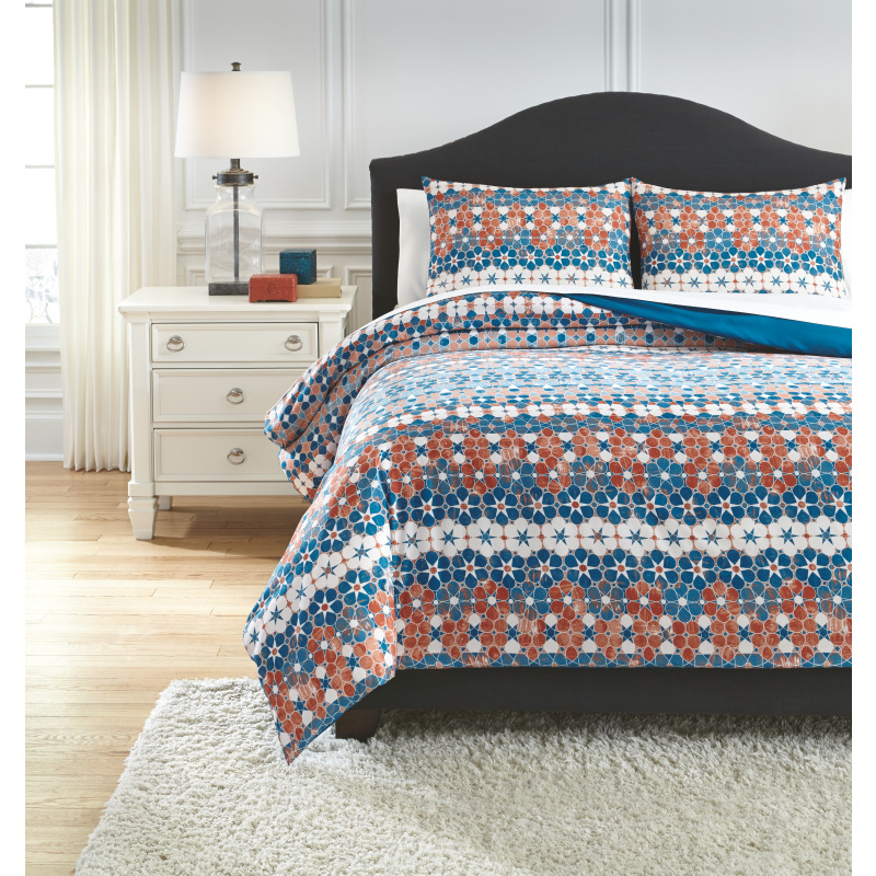 Jackalyn 3-Piece Queen Comforter Set
