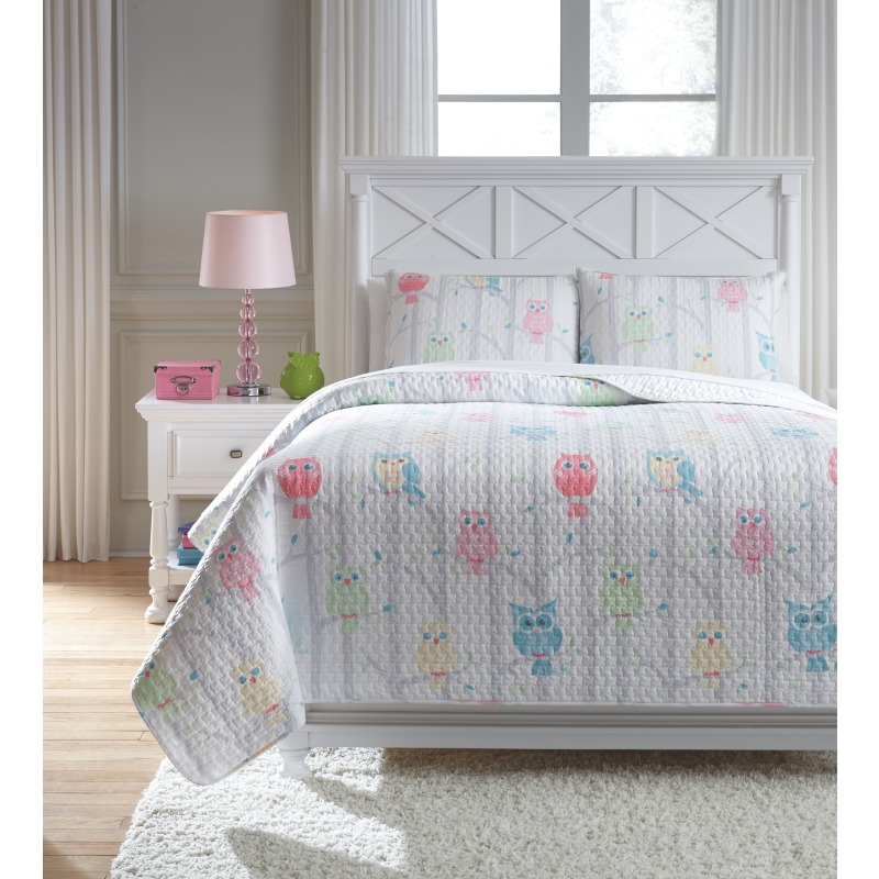 Lucille 3-Piece Full Coverlet Set