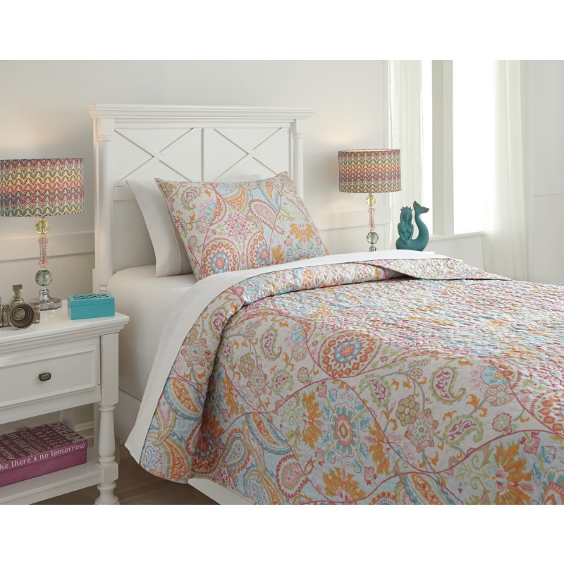 Jessamine 2-Piece Twin Coverlet Set