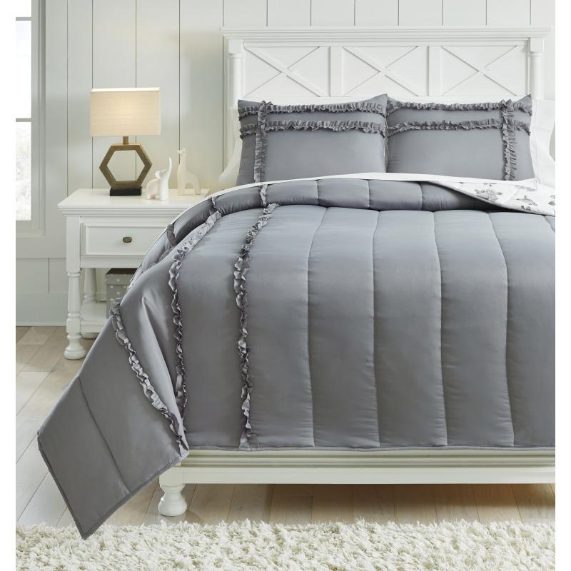 Meghdad 3-Piece Full Comforter Set