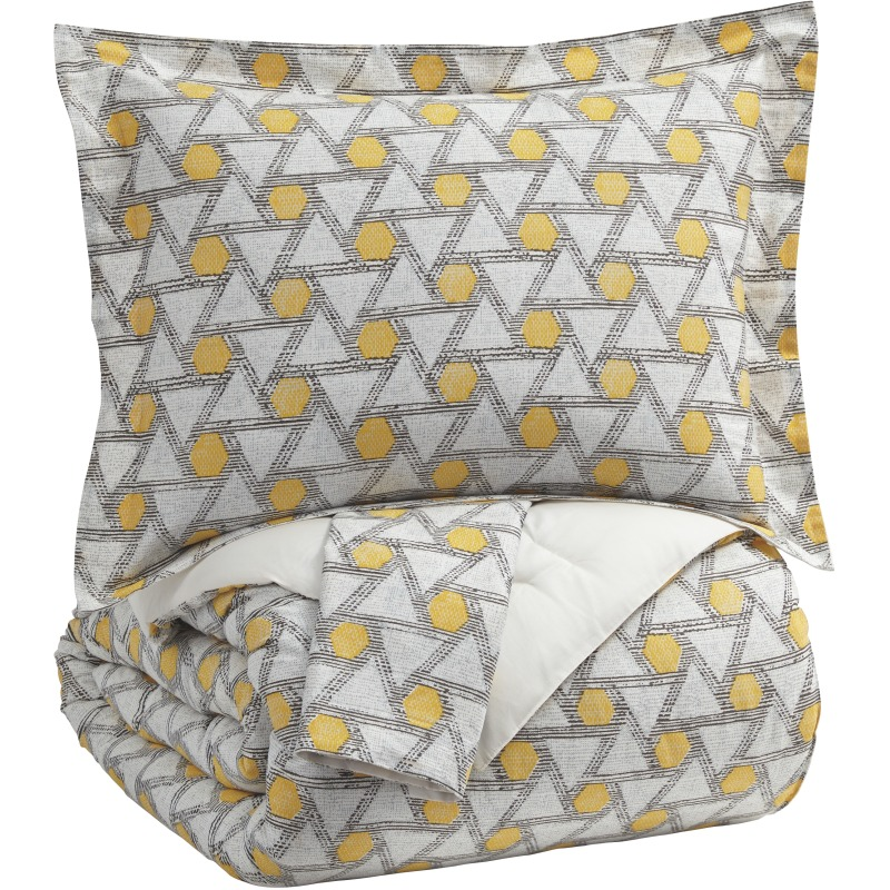 Pleasing Clio 3 Piece King Comforter Set Q435003K Gustafsons Ncnpc Chair Design For Home Ncnpcorg
